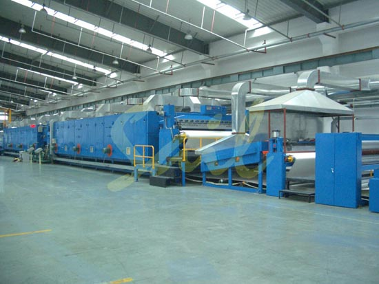 PVC输送带生产线