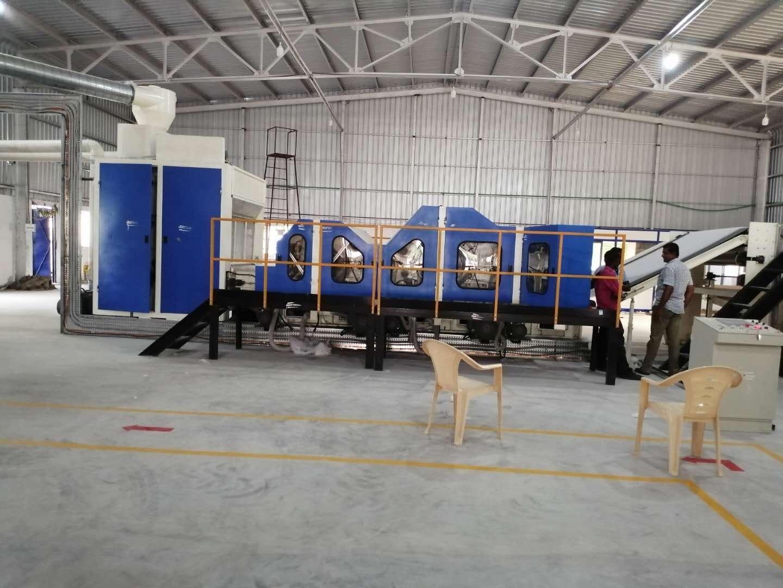 热风棉生产线