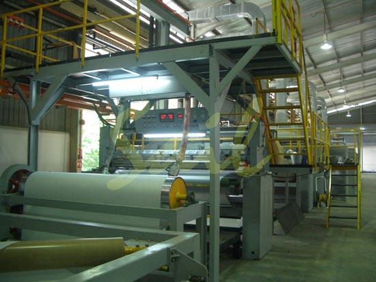地板革生产线
